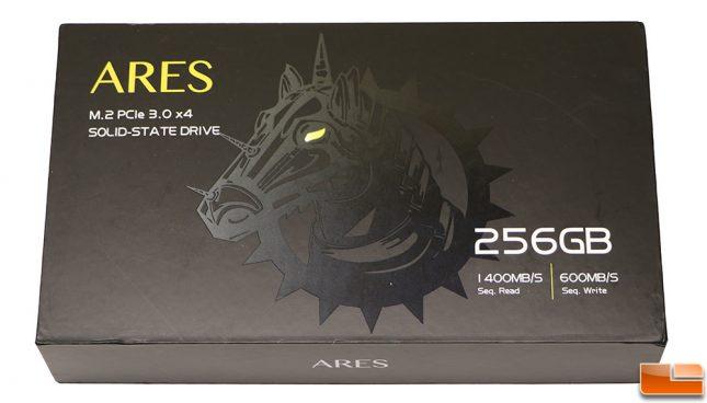 DREVO ARES 256GB PCIe NVMe SSD