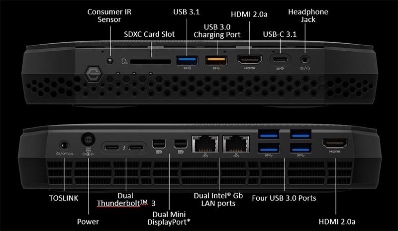 Intel Hades Canyon NUC8i7HVK NUC Review - Radeon RX Vega M GPU