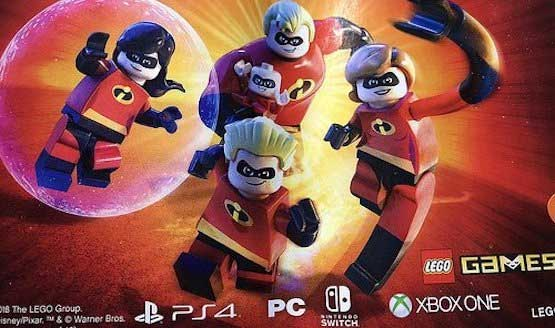 LEGO The Incredibles Game in the Works