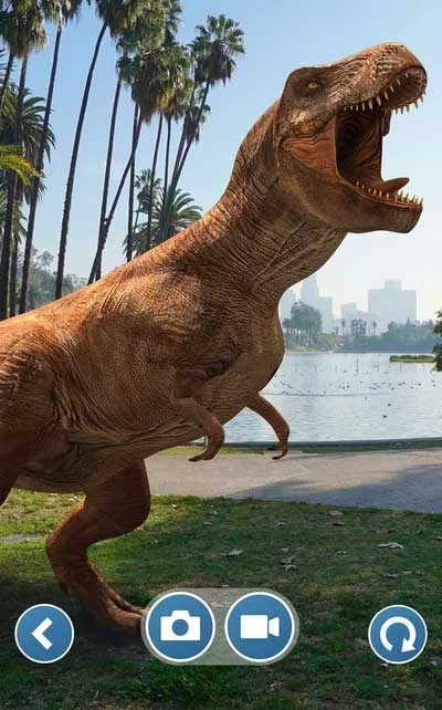 Jurassic World Alive is Pokémon Go with T-Rex