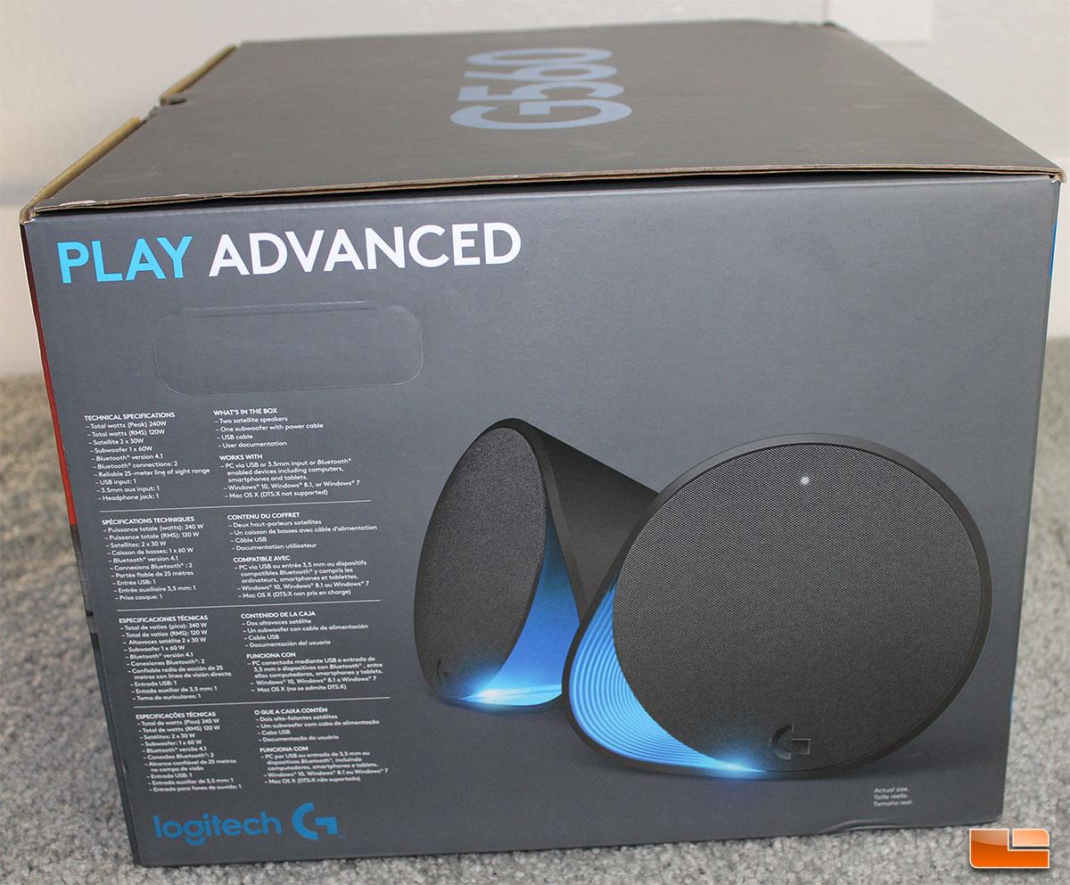 Logitech G560 RGB PC Gaming Speakers Review - Legit ReviewsLogitech
