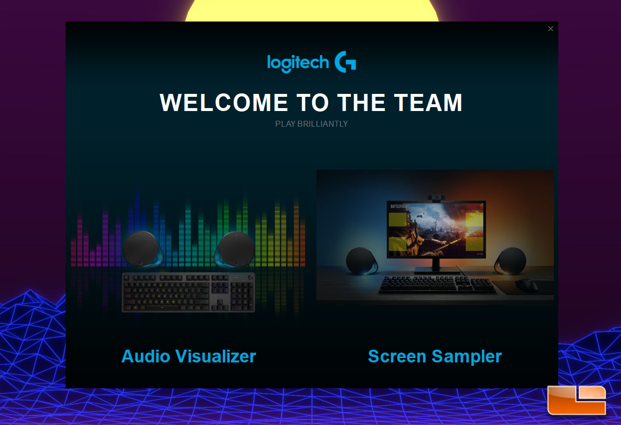 Logitech G560 Rgb Pc Gaming Speakers Review Page 3 Of 5 Legit Lightsync Speaker Lgs Splash Screen