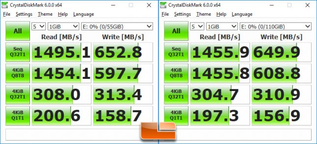 Intel Optane SSD 800P Performance Comparison