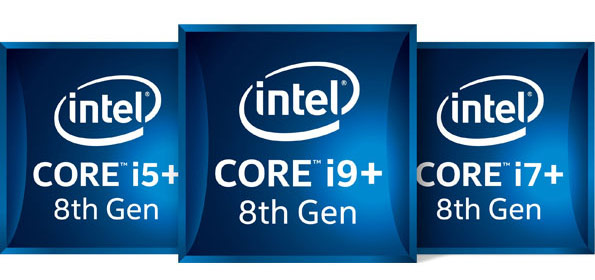 Intel Core i5+, i7+ and i9 Badges