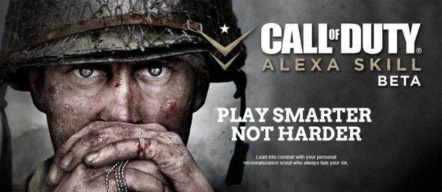 Call of Duty WWII Alexa Skill Will Coach You