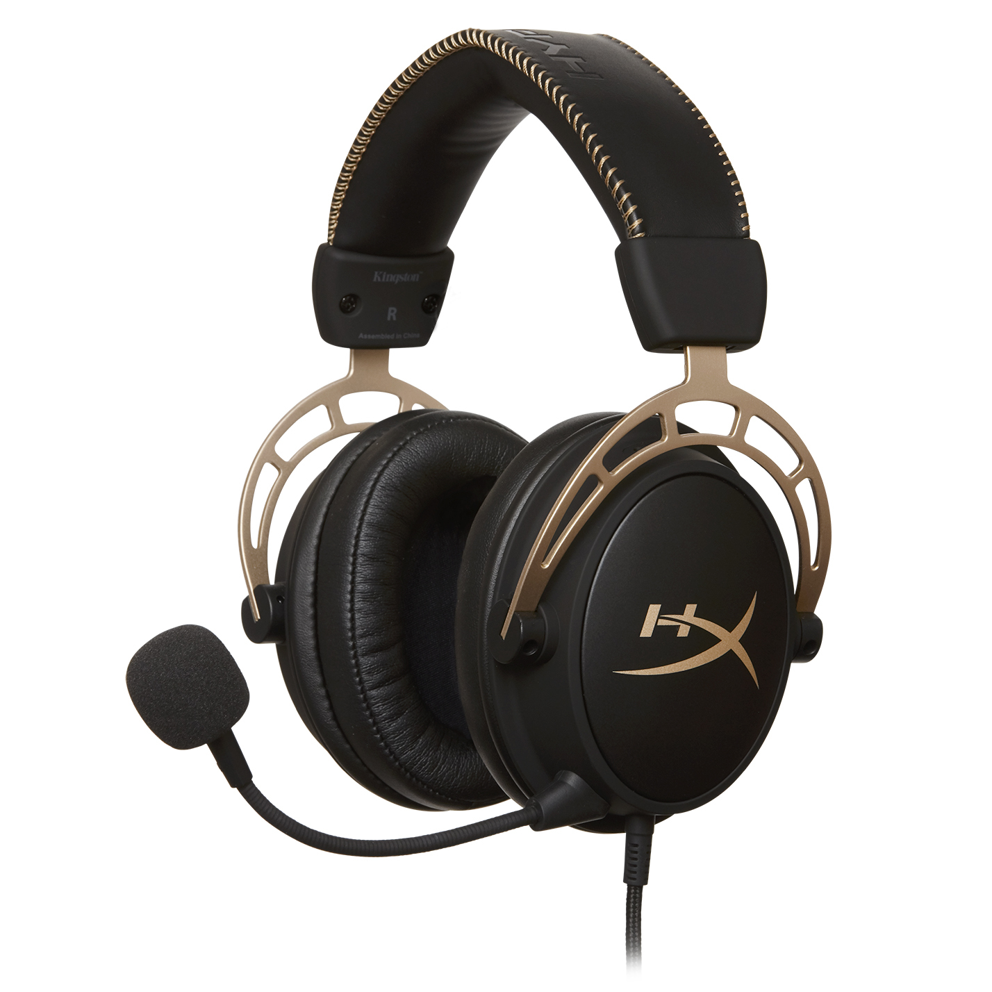 Cost U Less >> HyperX Debuts Cloud Alpha Gold Edition Gaming Headset - Legit Reviews