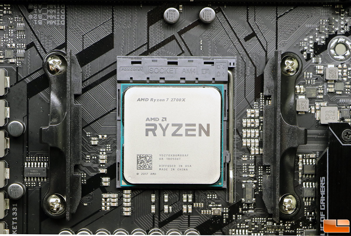 Amd Ryzen 7 2700x Processor Review 2nd Gen Ryzen Legit