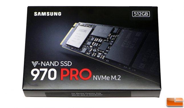 Samsung SSD 970 PRO Retail Drive