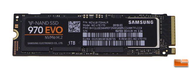 Samsung SSD 970 EVO 1TB M.2 Drive