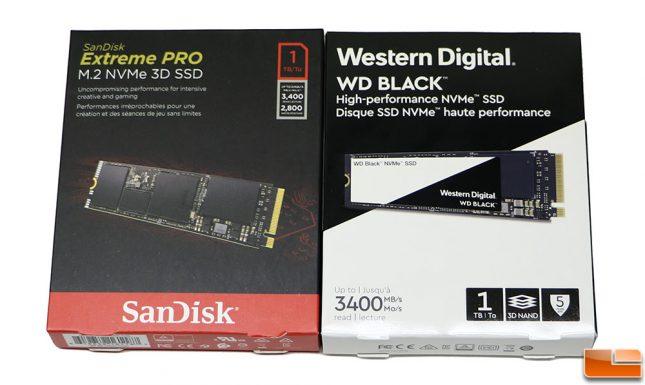 Western Digital Black 3D NVMe SSD Packaging