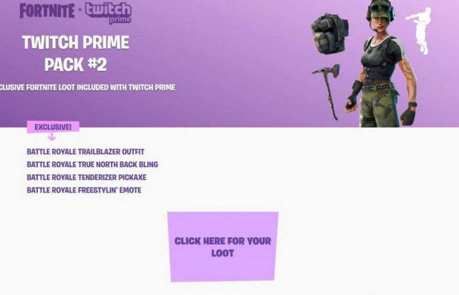 how to get twitch prime pack 1