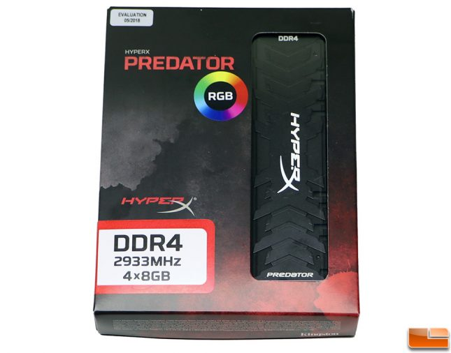 HyperX Predator DDR4 RGB 32GB