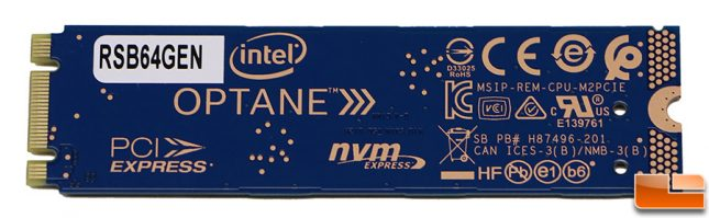 Intel Optane Memory M10 64GB