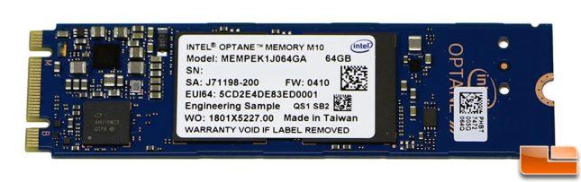 Intel Optane Memory Module M10 64GB