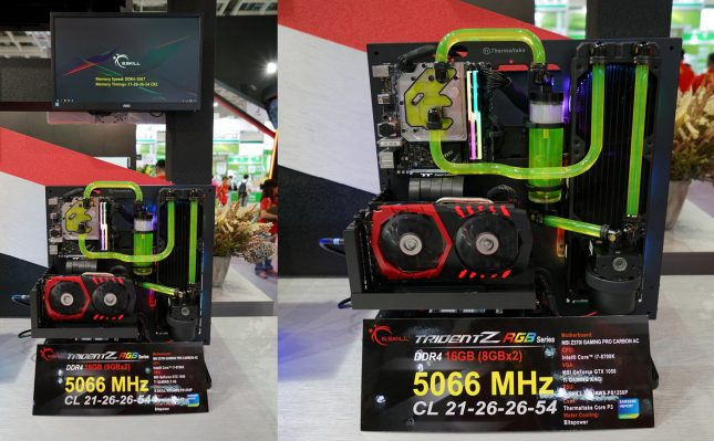 G.SKill DDR4 5066MHz Memory Kit
