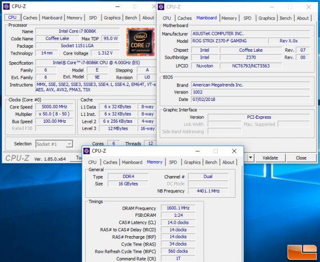 8086k test system