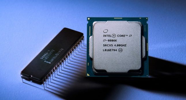 Intel 8086 with Core i7-8086K