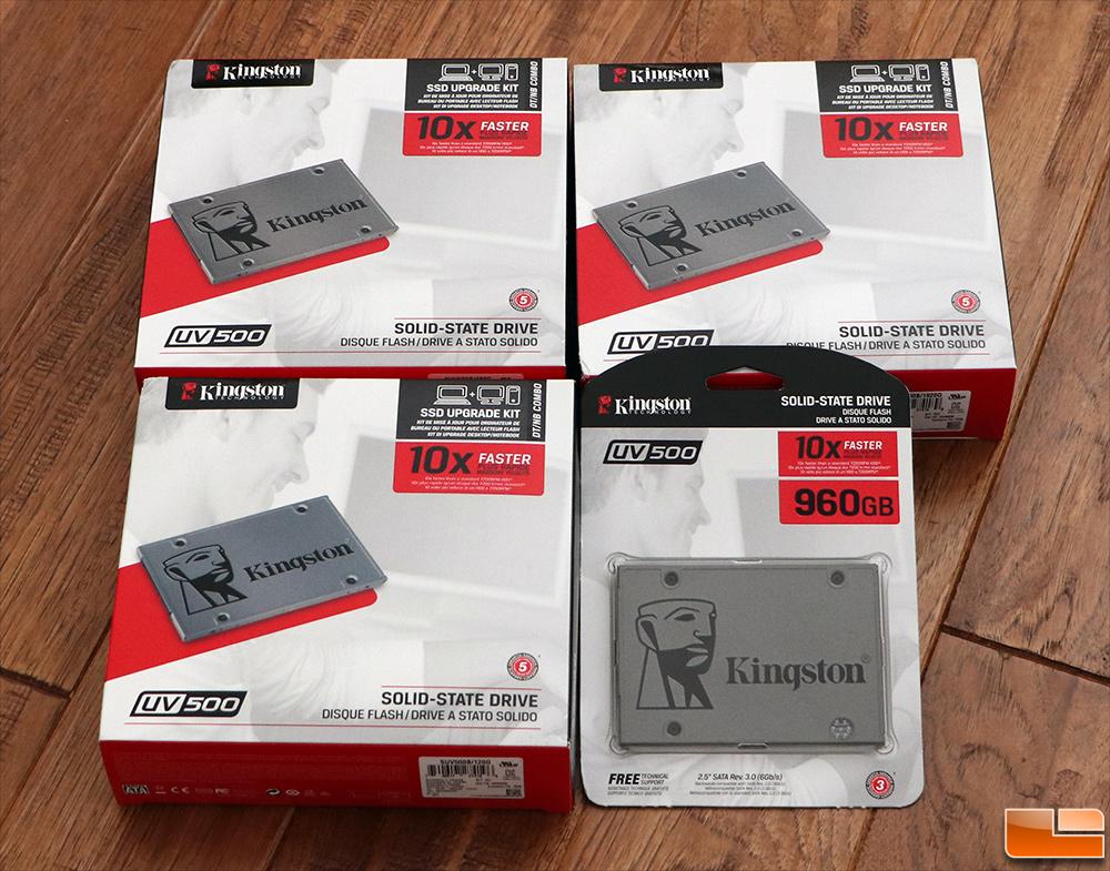 Kingston UV500 SATA SSD Review - Self-Encrypting Drive - Legit