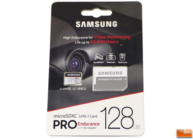 Samsung 64GB Pro Endurance Micro SDXC 128GB Memory Card