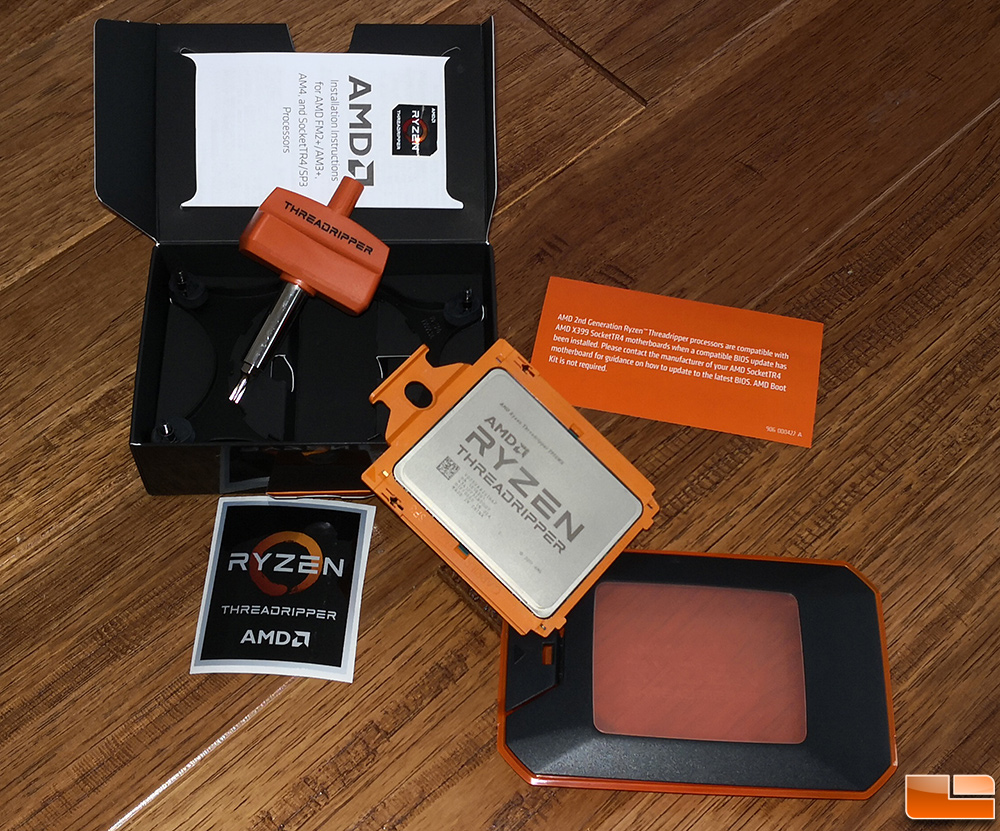 Amd Ryzen Threadripper 2990wx Processor Review Legit