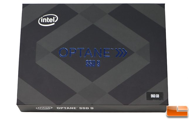 Intel Optane SSD 905P Retail Box