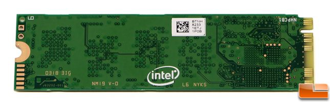 Intel SSD 660p 1TB PCB