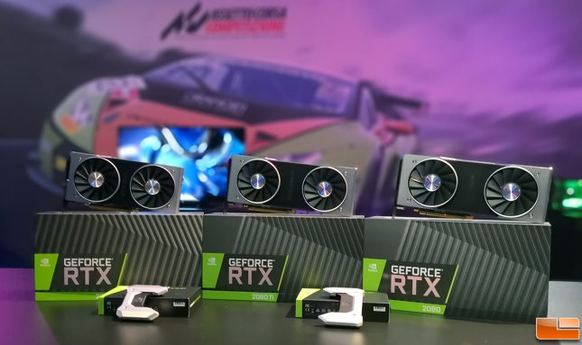NVIDIA GeForce RTX-20 Series Cards