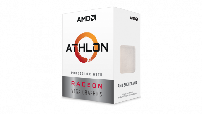 AMD Athlon with Radeon Vega