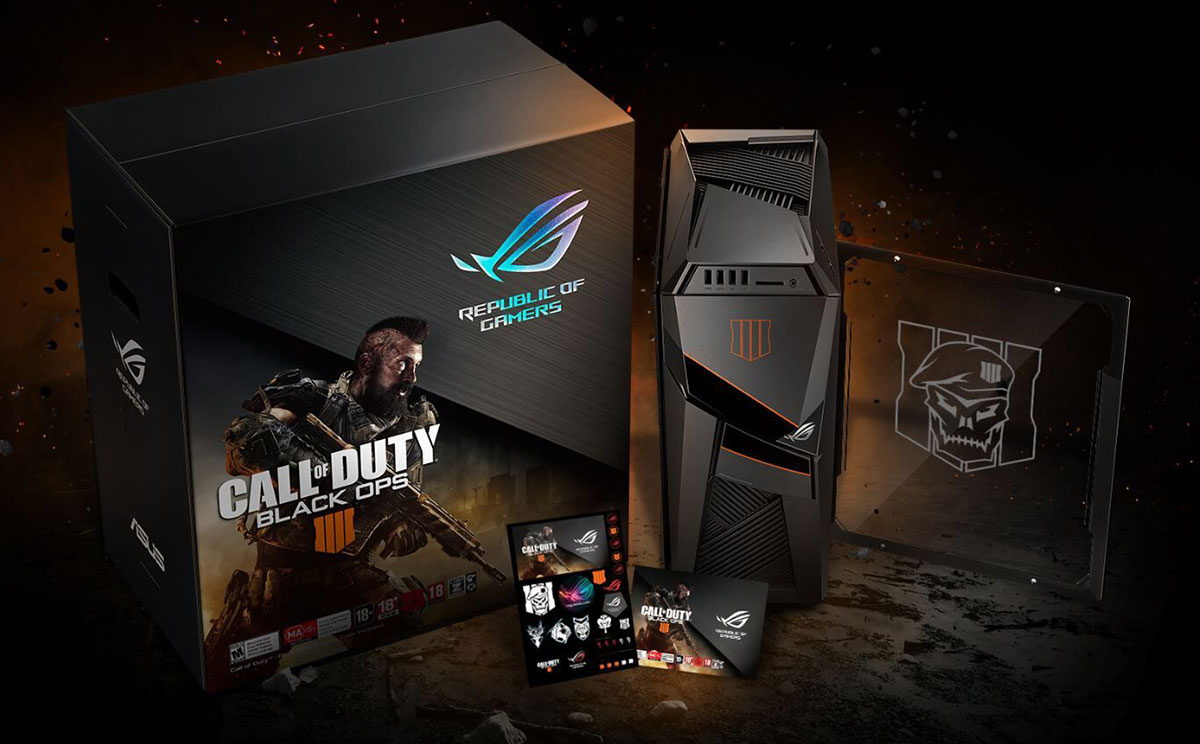 Asus Rog Introduces Call Of Duty Black Ops 4 Products