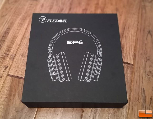 ELEPAWL EP6 Active Noise Cancelling Headphones