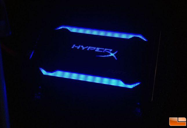 HyperX Fury RGB SSD Blue
