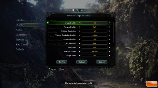 Monster Hunter: World Settings 2