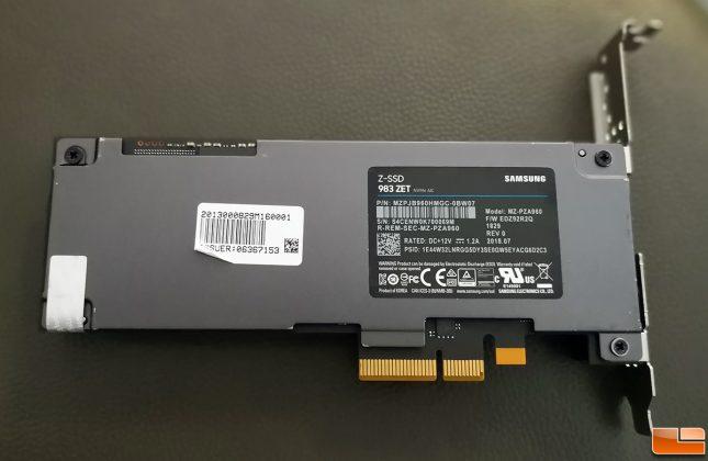 Samsung 983 ZET SSD