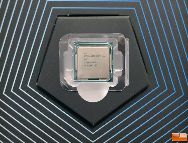 Intel Core i9-9900K Engineering Sample CPU