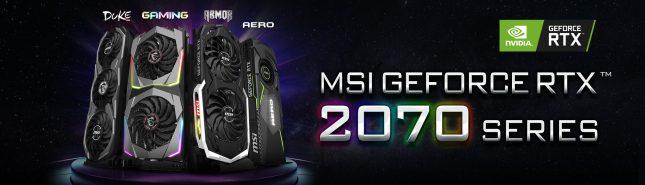 MSI CUSTOM RTX 2070