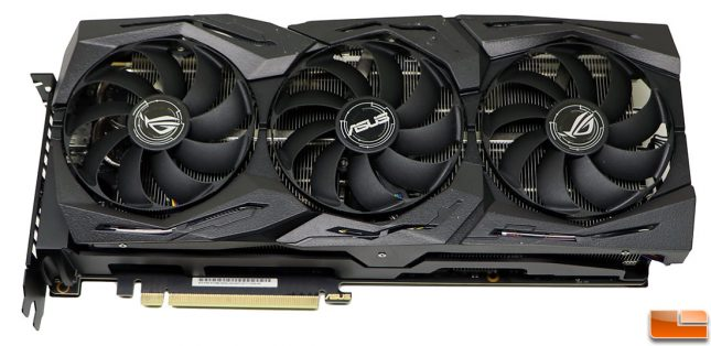 ASUS ROG STRIX GeForce RTX 2080 OC Front