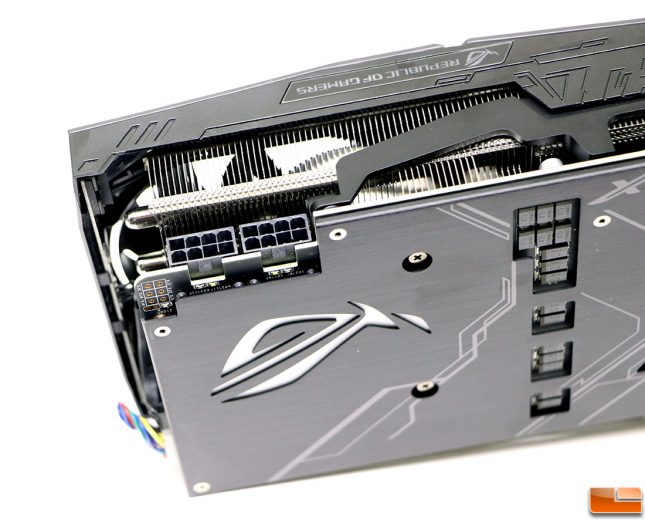 ASUS ROG STRIX GeForce RTX 2080 OC Power Connectors