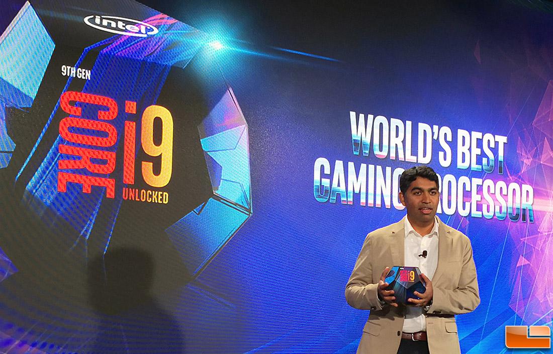 Intel Launches World's Best Gaming Processor - Core i9-9900K - Legit