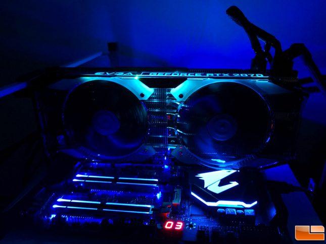 EVGA RTX 2070 XC Gaming LED