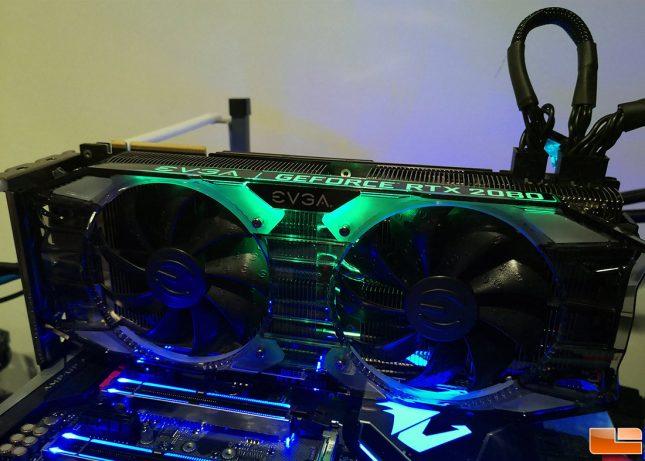 EVGA GeForce RTX 2080 XC Ultra RGB Lights