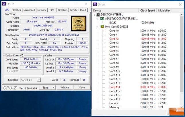 9980XE CPU-Z