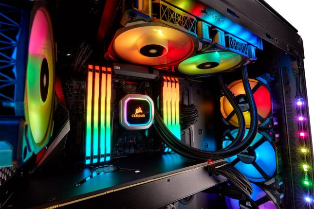 More RGB with Corsair Platinum CPU Coolers