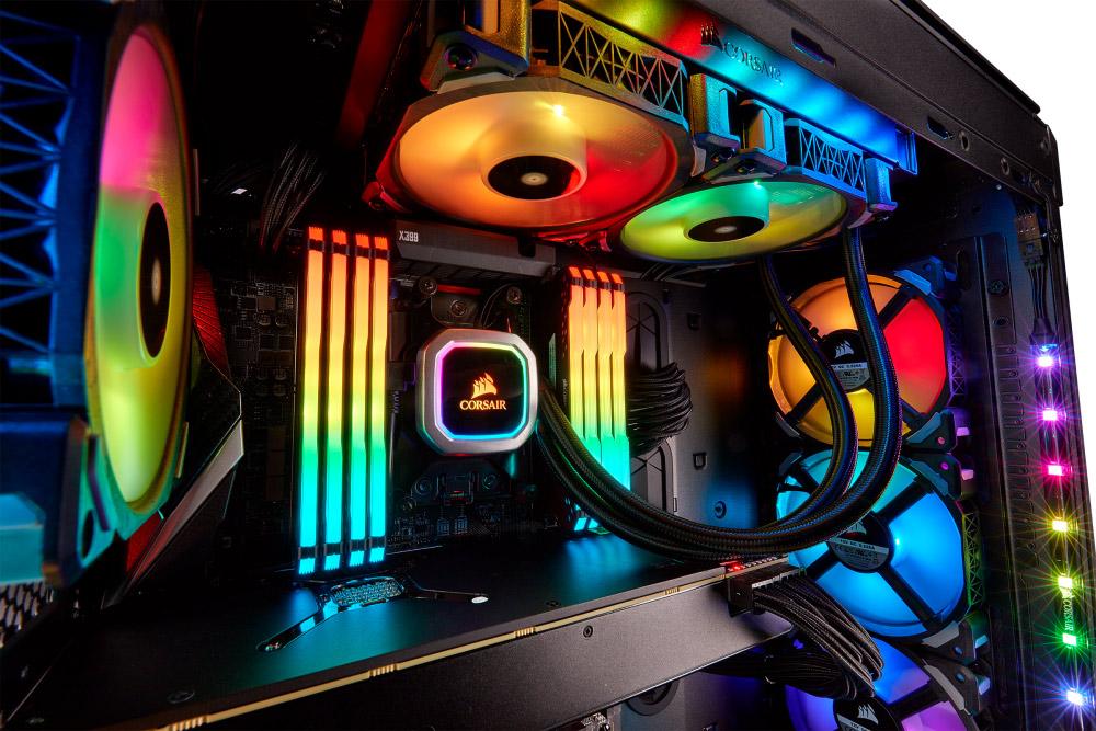 Corsair Hydro H100i RGB Platinum CPU Cooler Review - Legit Reviews
