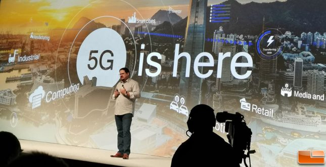 5G is here