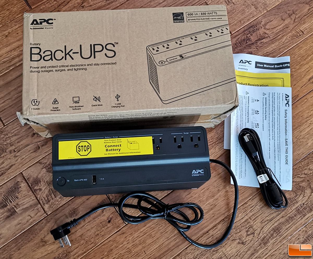 APC UPS 600VA BE600M1 Battery Backup & Surge Protector Review