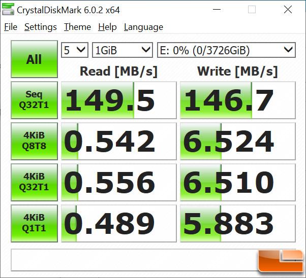 ADATA HD830 CrystalDiskMark