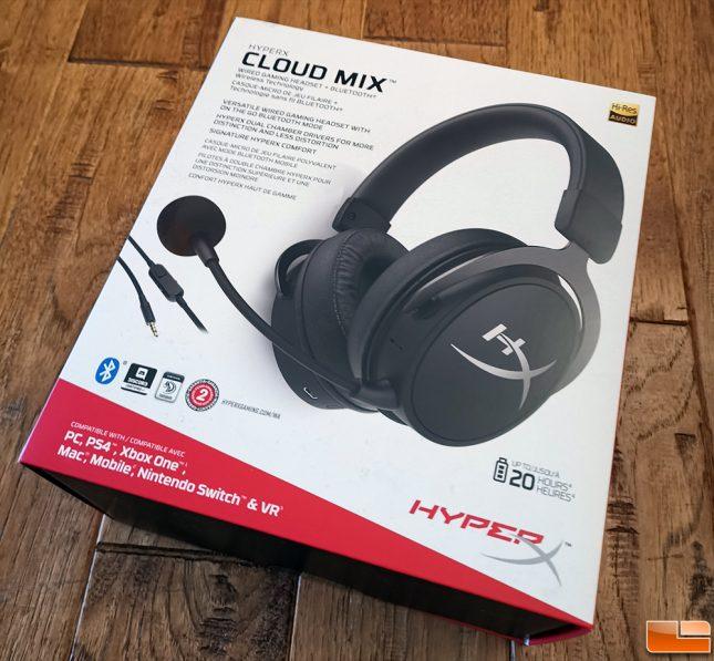 HyperX Cloud Mix Retail Box