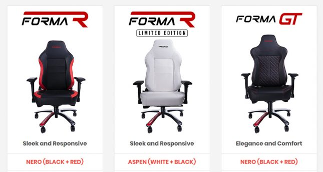 MAINGEAR FORMA Gaming Chairs