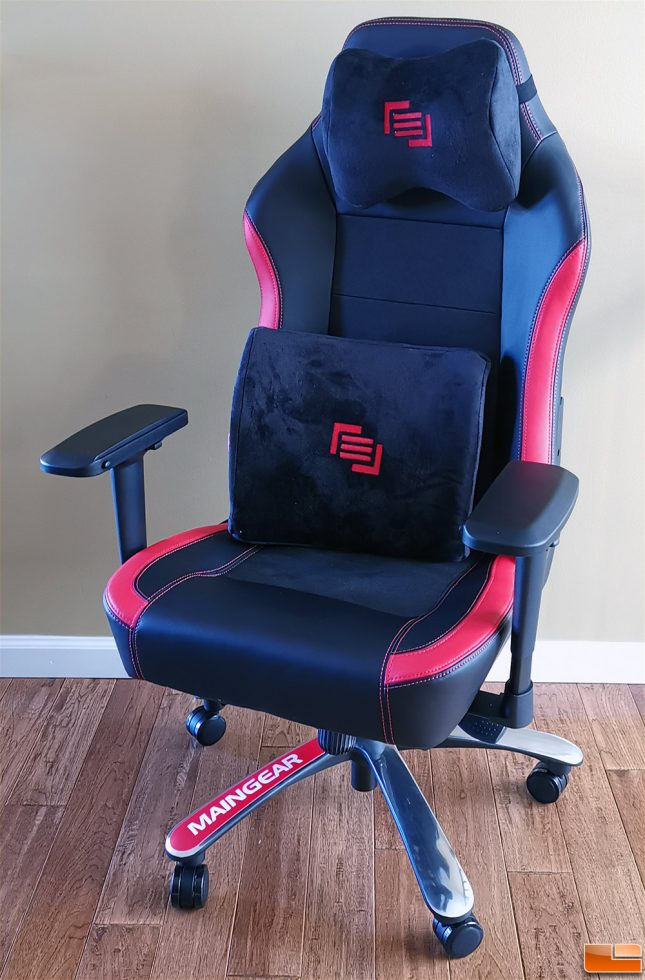 Maingear Forma R Nero Gaming Chair Review Legit Reviews