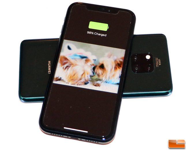 Reverse Wireless Charging Mate 20 Pro